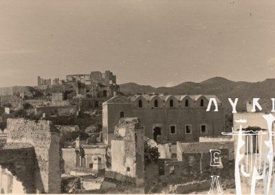 Καλλιόπη Μουσαίου, Ταξιάρχης Λιβισιού, 1952